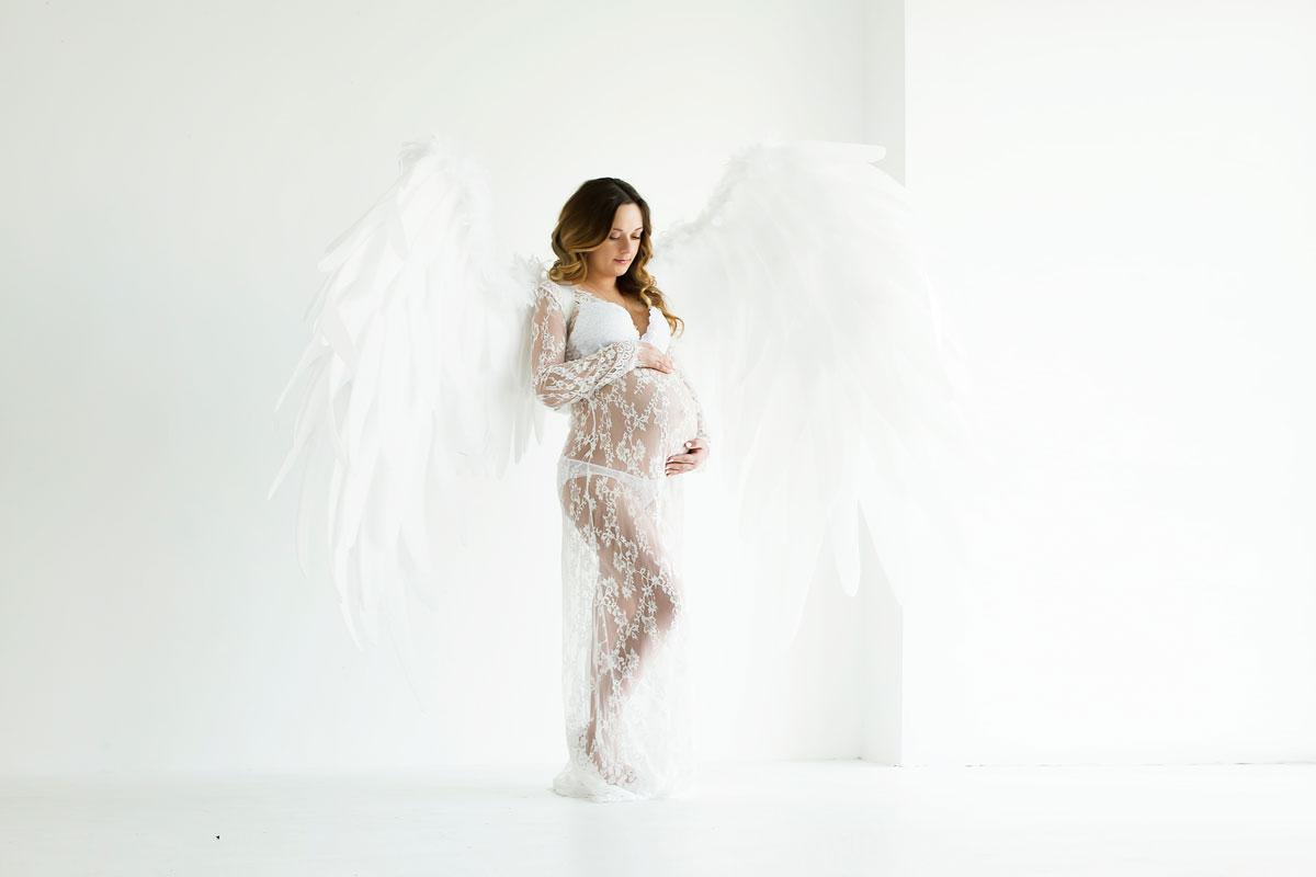 Ангельские крылья для фотосессии